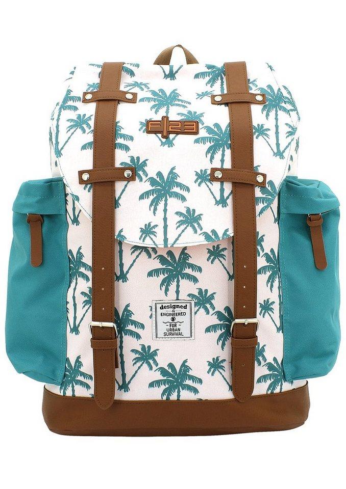 F23 Rucksack mit gepolstertem Laptopfach, »Palm«