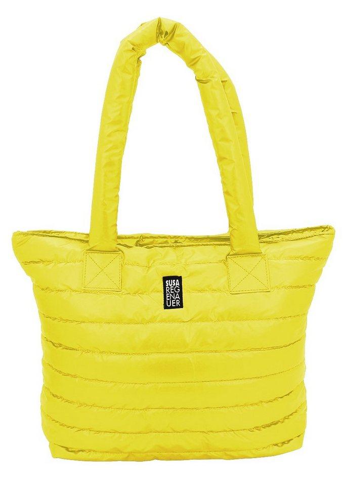 F23™, Business-Shopper im stylischen Steppdesign, »Susa Regenauer Edition by F23« in gelb