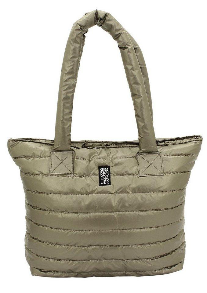 F23™ Business-Shopper im stylischen Steppdesign, »Susa Regenauer Edition by F23« in bronzefarben