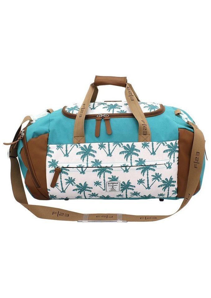 F23 Reisetasche mit Nassfach, »Palm«