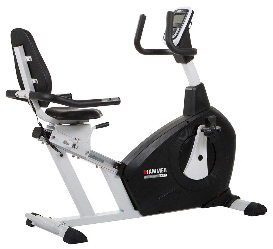 Hammer® Sitz-Ergometer, »Comfort XTR« in schwarz-weiß
