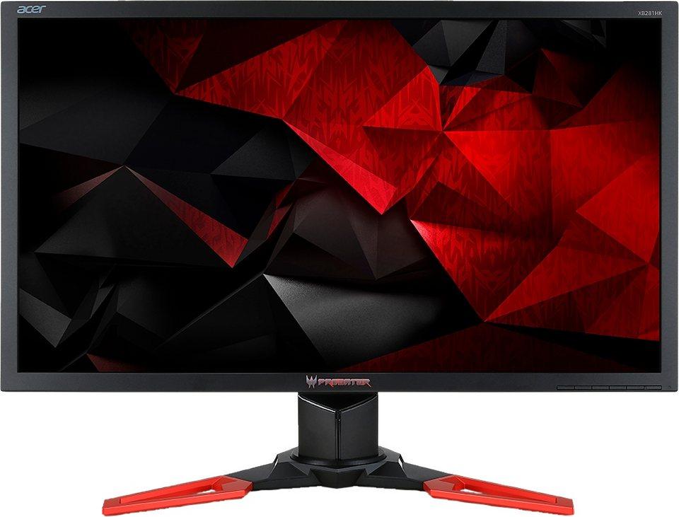 Acer Predator XB281 LCD-Monitor, 71 cm (28 Zoll), 3840 x 2160, 16:9 in schwarz