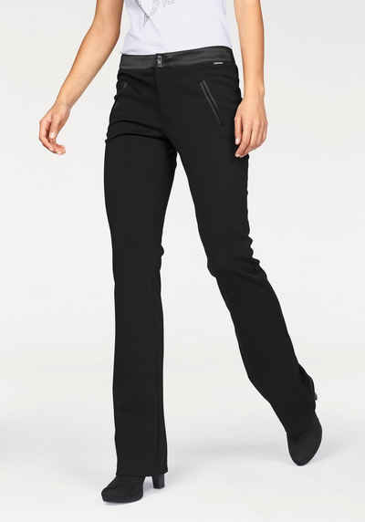 Schwarze hose damen stretch