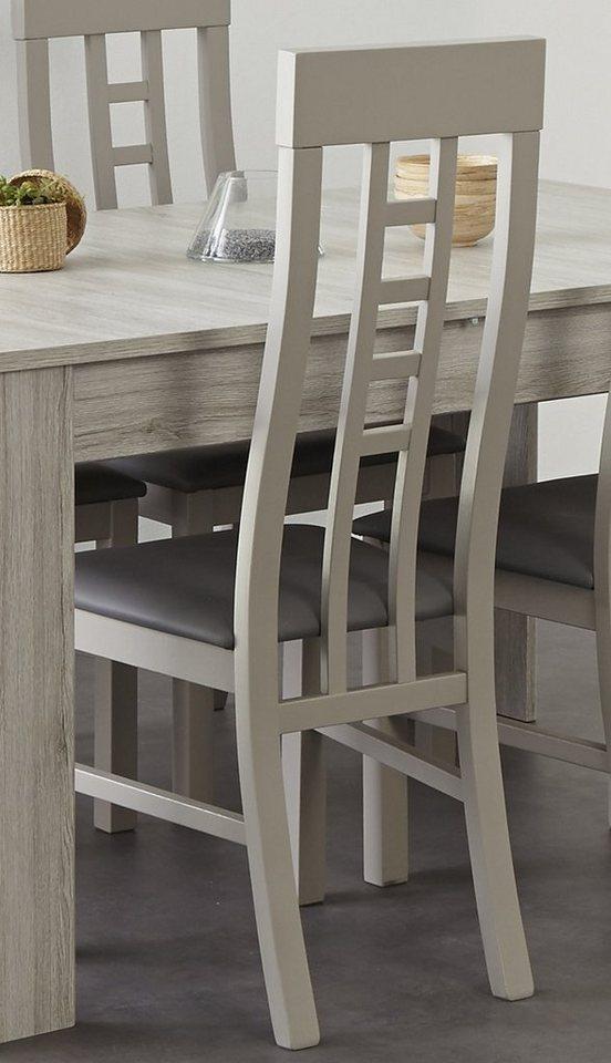 Parisot Stühle, »Luneo«, (2 Stück) in eichefb. Portofino grey