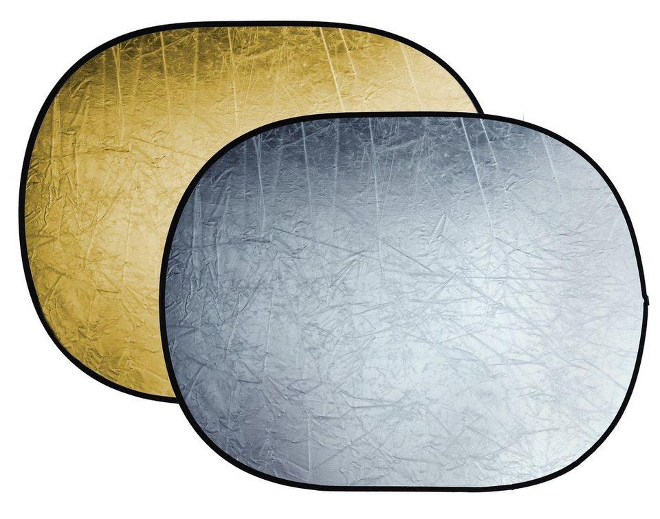 Bresser Fotostudio »BRESSER BR-TR5 Faltreflektor gold/silber 150x200cm«