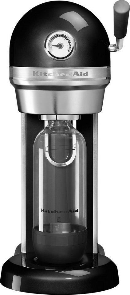 KitchenAid® Artisan Soda Stream 5KSS1121OB onxy schwarz in onyx schwarz
