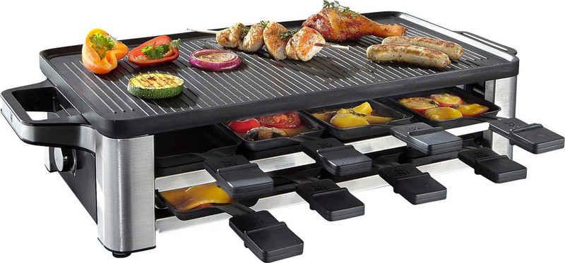 WMF Raclette LONO, 8 Raclettepfännchen, 1500 W