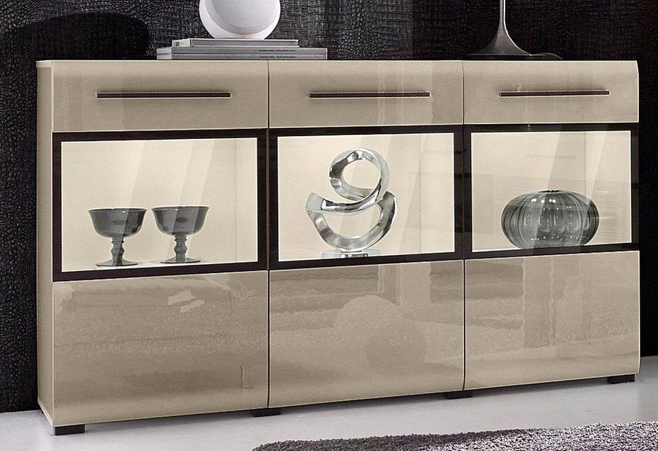 sideboard breite 135 cm online kaufen otto. Black Bedroom Furniture Sets. Home Design Ideas