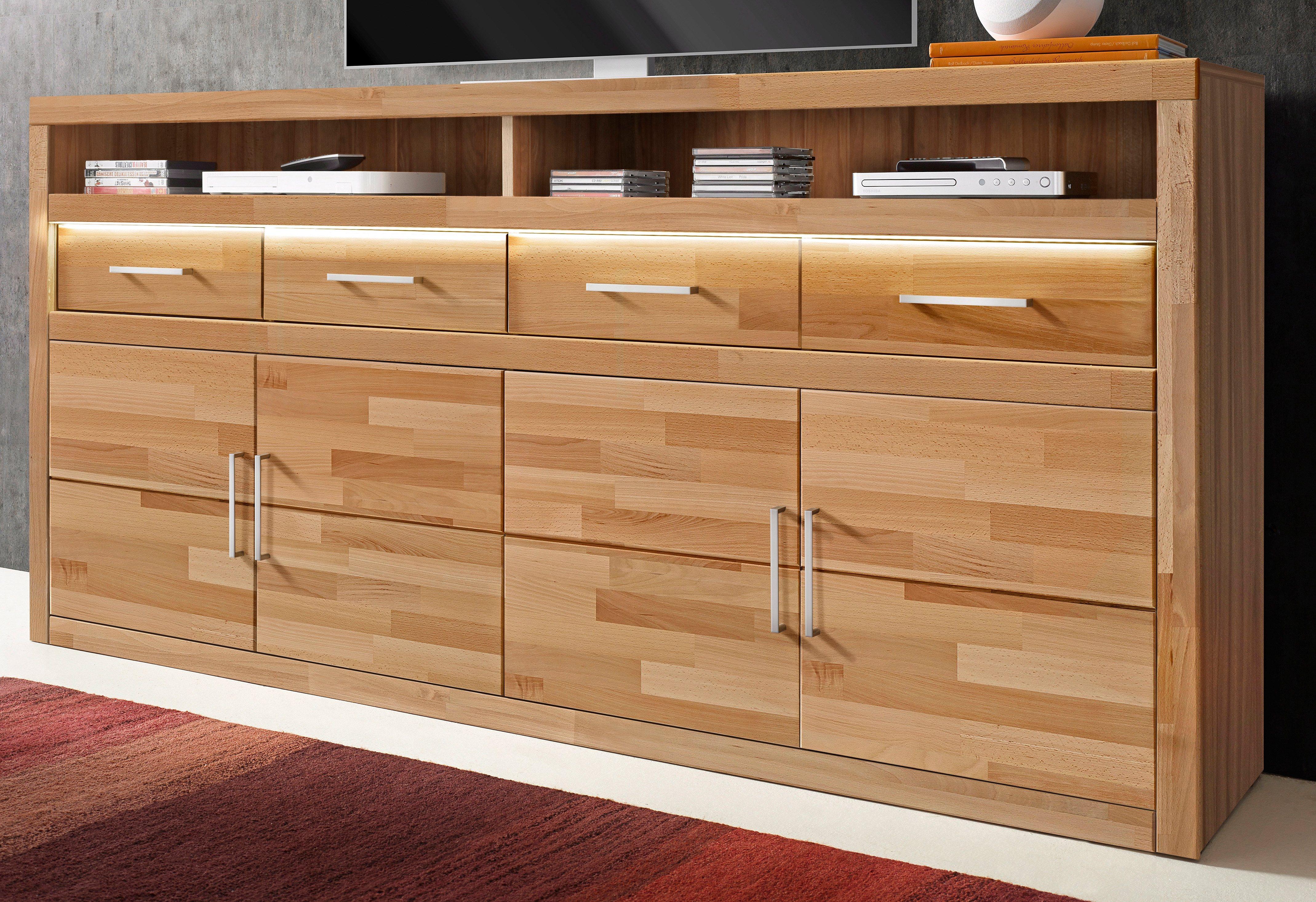sideboard massivholz buche stunning lowboard massivholz design sideboard lowboard massivholz. Black Bedroom Furniture Sets. Home Design Ideas