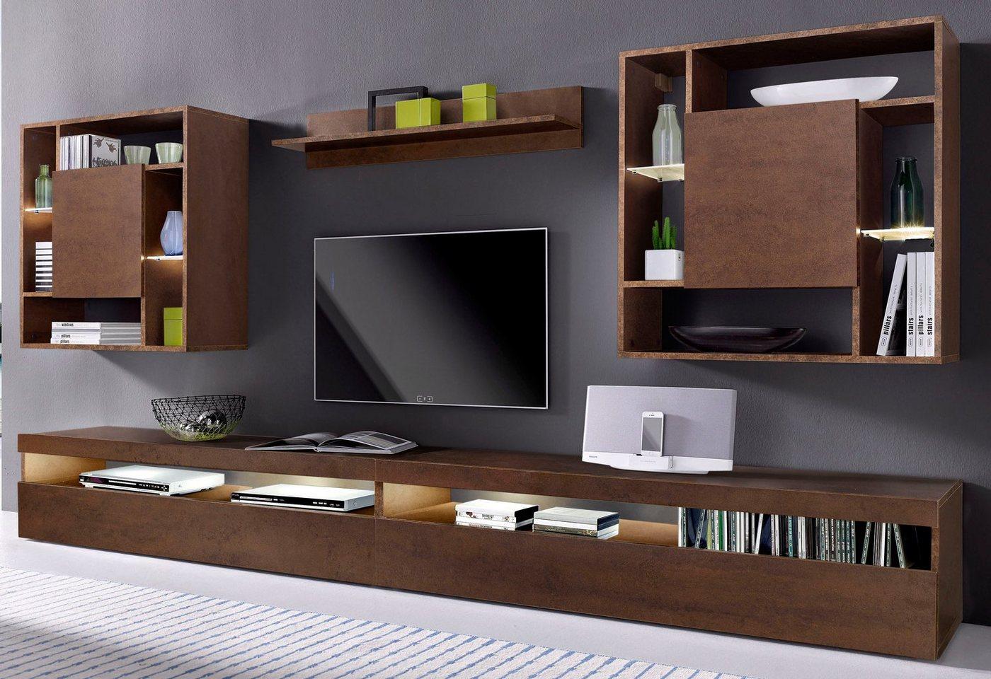 wohnwand 300 cm preisvergleiche erfahrungsberichte und kauf bei nextag. Black Bedroom Furniture Sets. Home Design Ideas