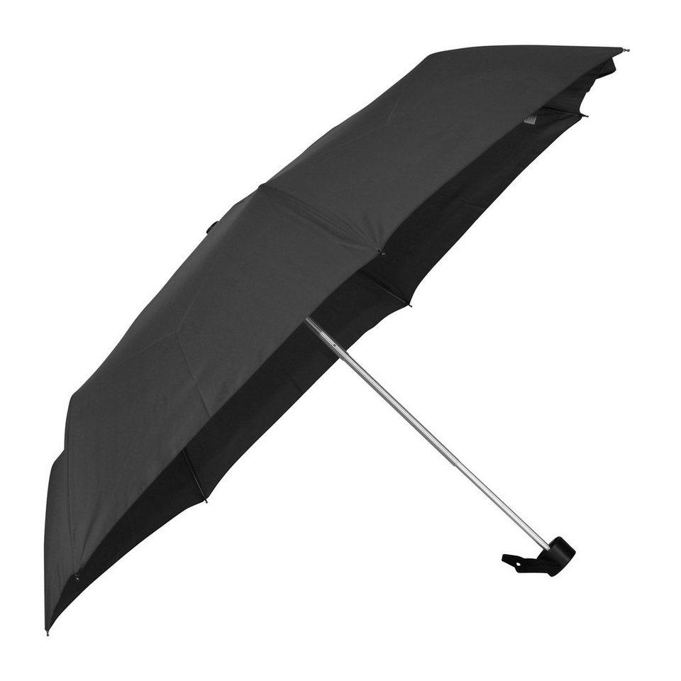 Happy Rain Alu Light Taschenschirm 25 cm in black