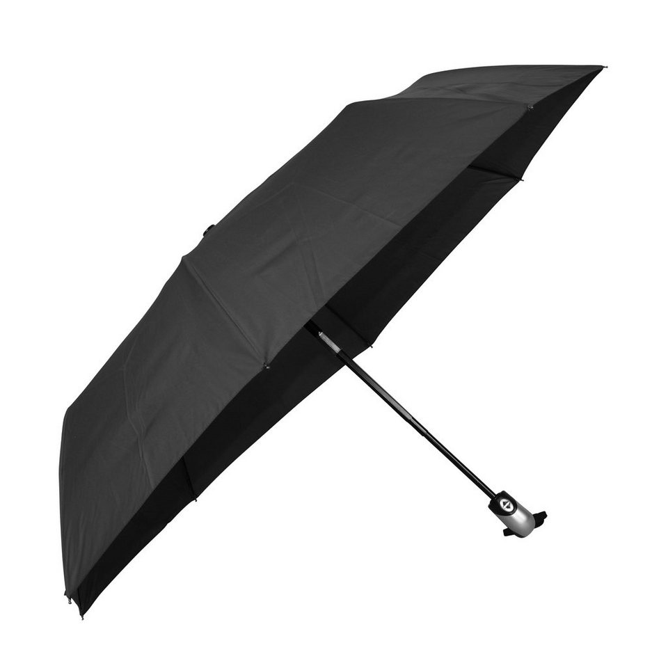 Happy Rain Easymatic Ultra Light Taschenschirm 28 cm in black