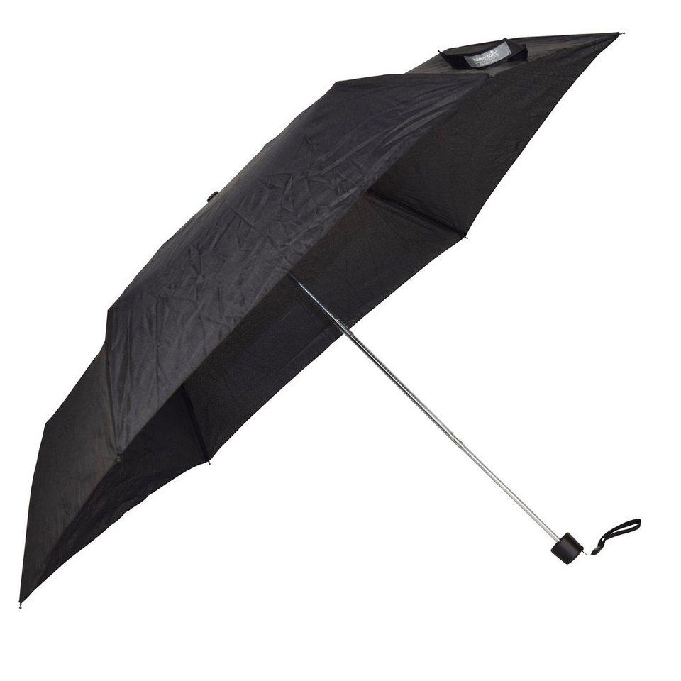 Happy Rain Pencil Taschenschirm 25 cm in black