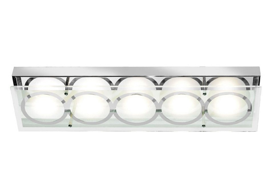 LED-Deckenleuchte, Paul Neuhaus in silberfarben