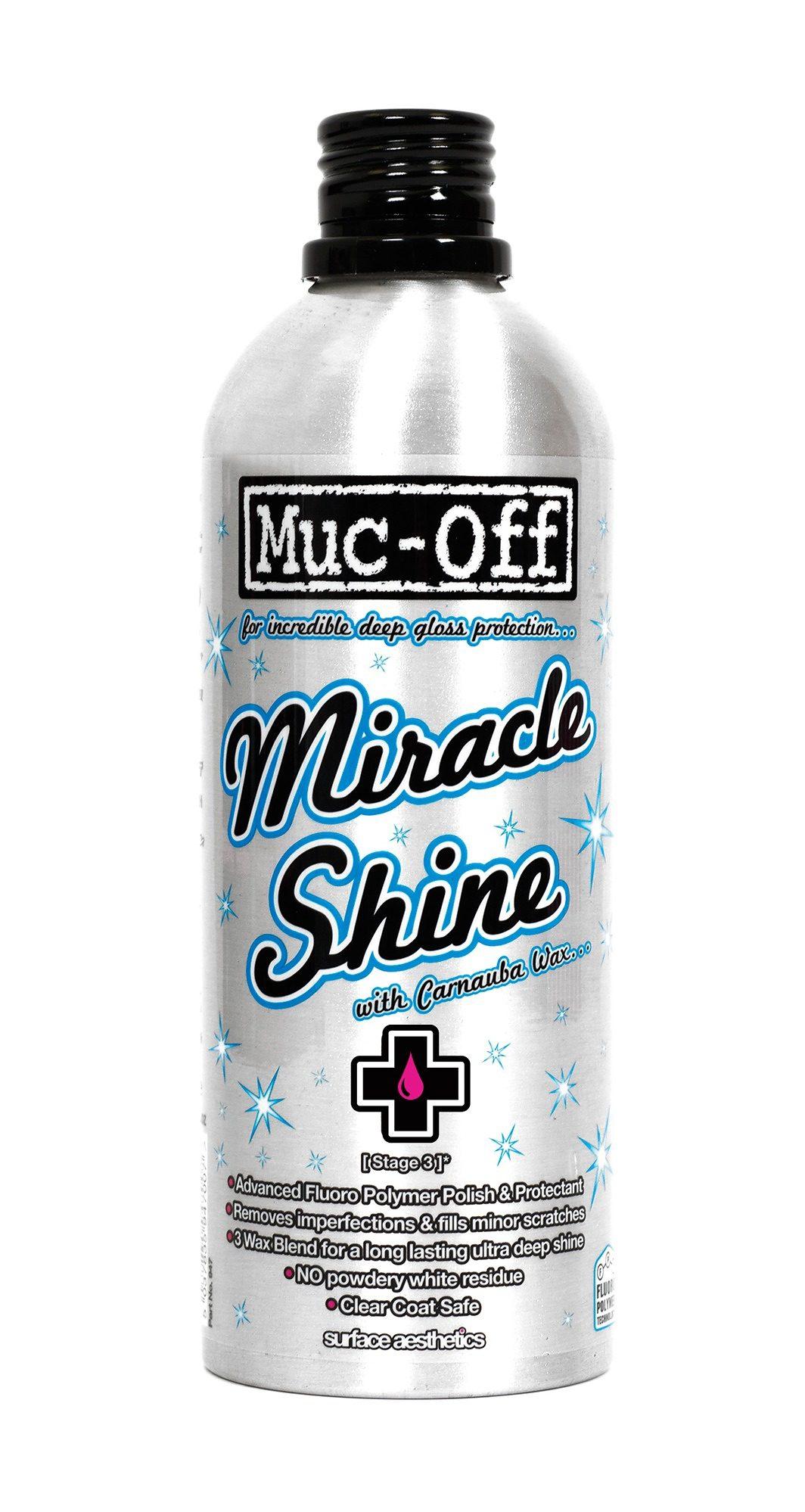 Muc-Off Fahrrad Reiniger »Muc-Off Miracle Shine Polish 500ml«