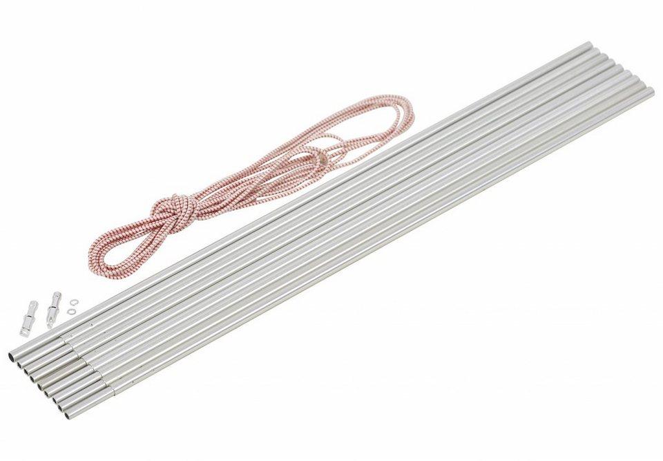 CAMPZ Zelt »Bogengestänge Alu 8,5mm/4,65m« in silber
