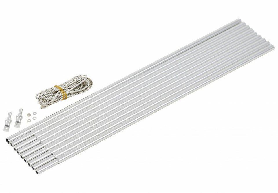 CAMPZ Zelt »Bogengestänge Alu 9,5mm/3,6m« in silber