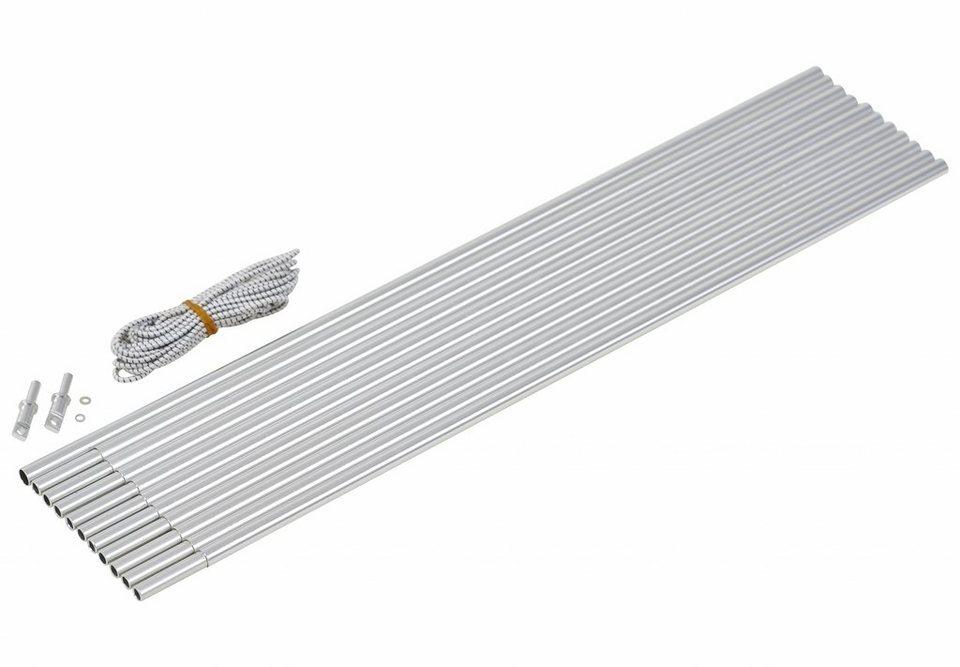 CAMPZ Zelt »Bogengestänge Alu 9,5mm/5,0m« in silber