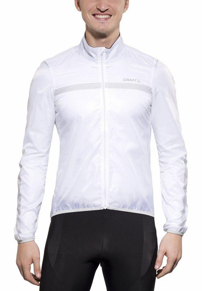 Craft Radjacke »Featherlight Jacket Men« in weiß