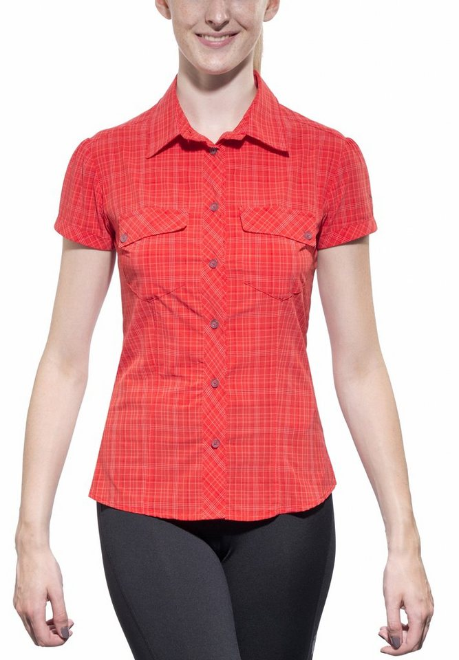 Salewa Bluse »Kitaa 2.0 Dry S/S Shirt Women« in rot