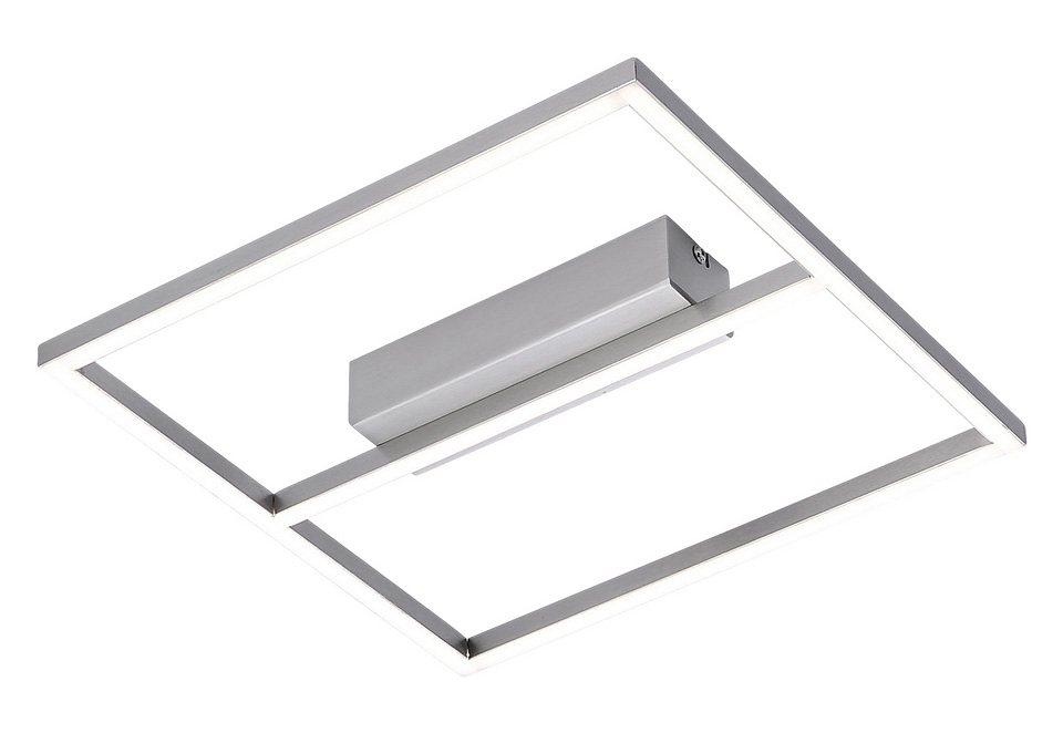 Paul Neuhaus Deckenleuchte, inkl. LED, 1 flammig in Leuchte stahlfarben
