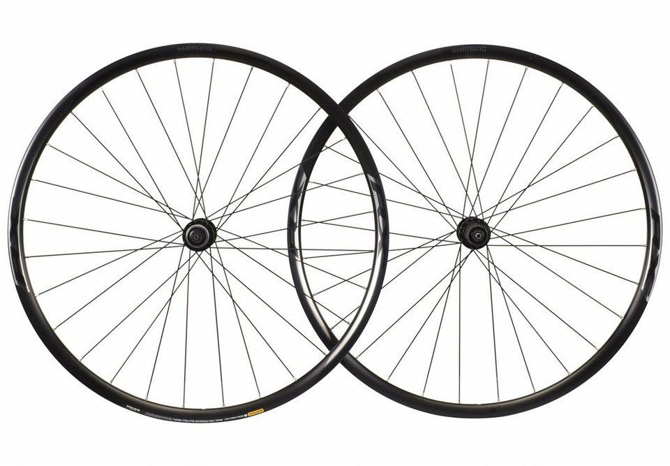 Shimano Laufrad »WH-RX010 Laufradsatz schwarz«