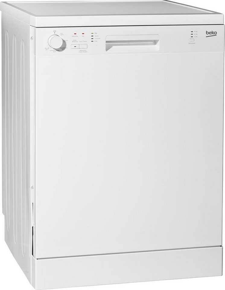 Beko Geschirrspüler DFN05L10W, A+, 12 Liter, 12 Maßgedecke in Weiß