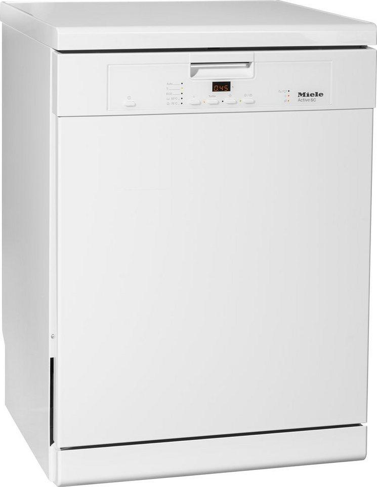 Miele Geschirrspüler G 4203 SC Active, A+, 13,5 Liter, 14 Maßgedecke in weiß