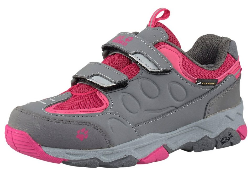 Jack Wolfskin Mountain Attack 2 Texapore Outdoorschuh in Grau-Pink