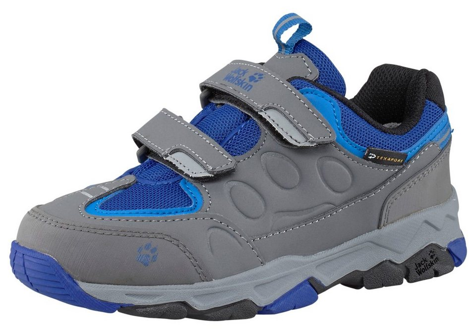 Jack Wolfskin Mountain Attack 2 Texapore Outdoorschuh in Grau-Blau