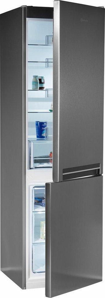 bauknecht k hl gefrierkombination kge 342 a in 201 cm hoch 60 cm breit online kaufen otto. Black Bedroom Furniture Sets. Home Design Ideas