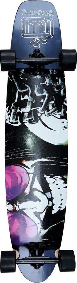 Longway Longboard, »Badboy« in mehrfarbig