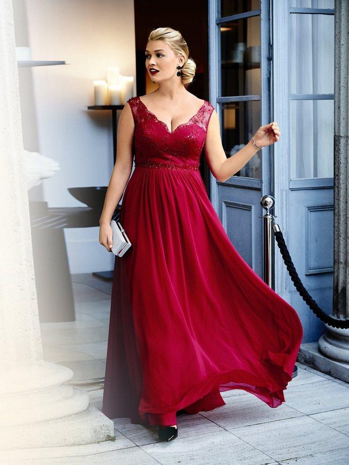 Guido Maria Kretschmer Abendkleid in rot