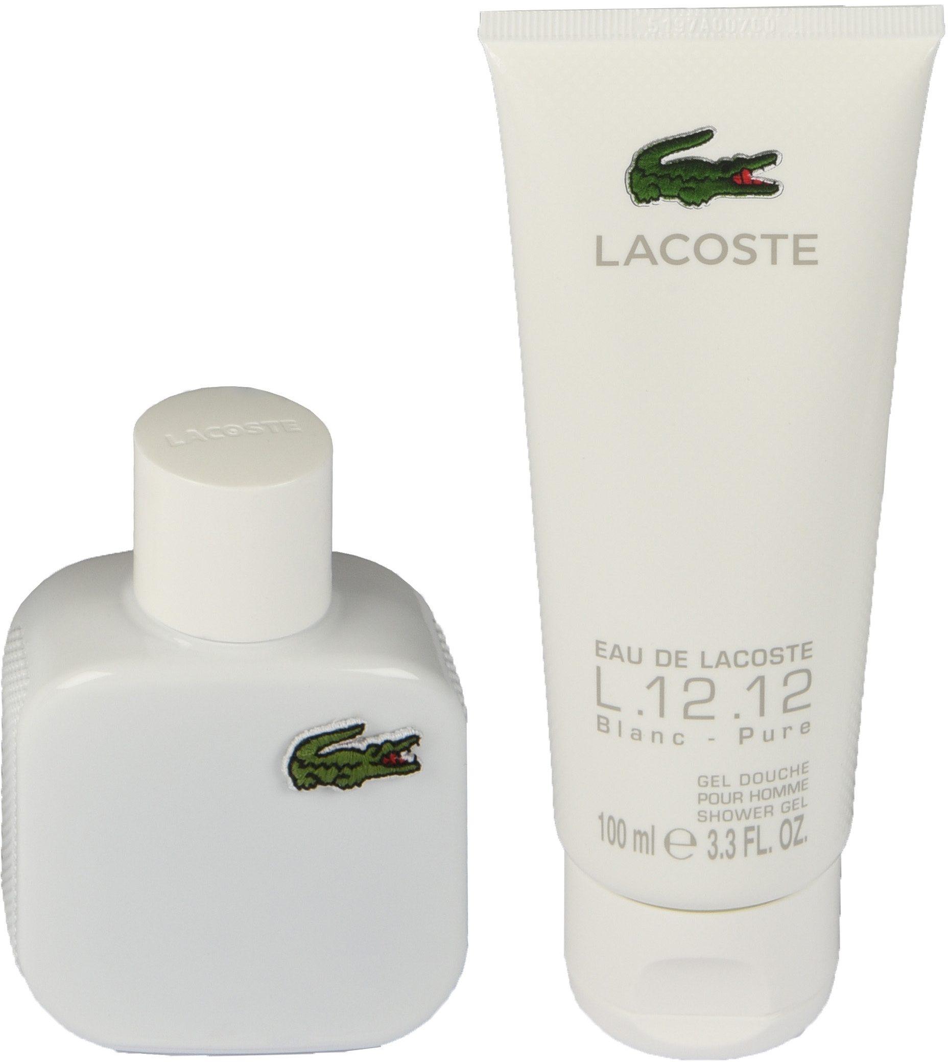 Lacoste, »Eau De Lacoste L.12.12 Blanc«, Duftset (2-tlg.)