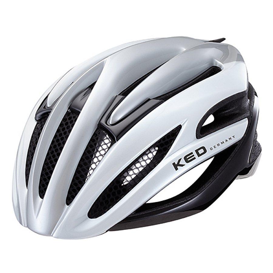 KED Fahrradhelm »Wayron Helmet« in silber