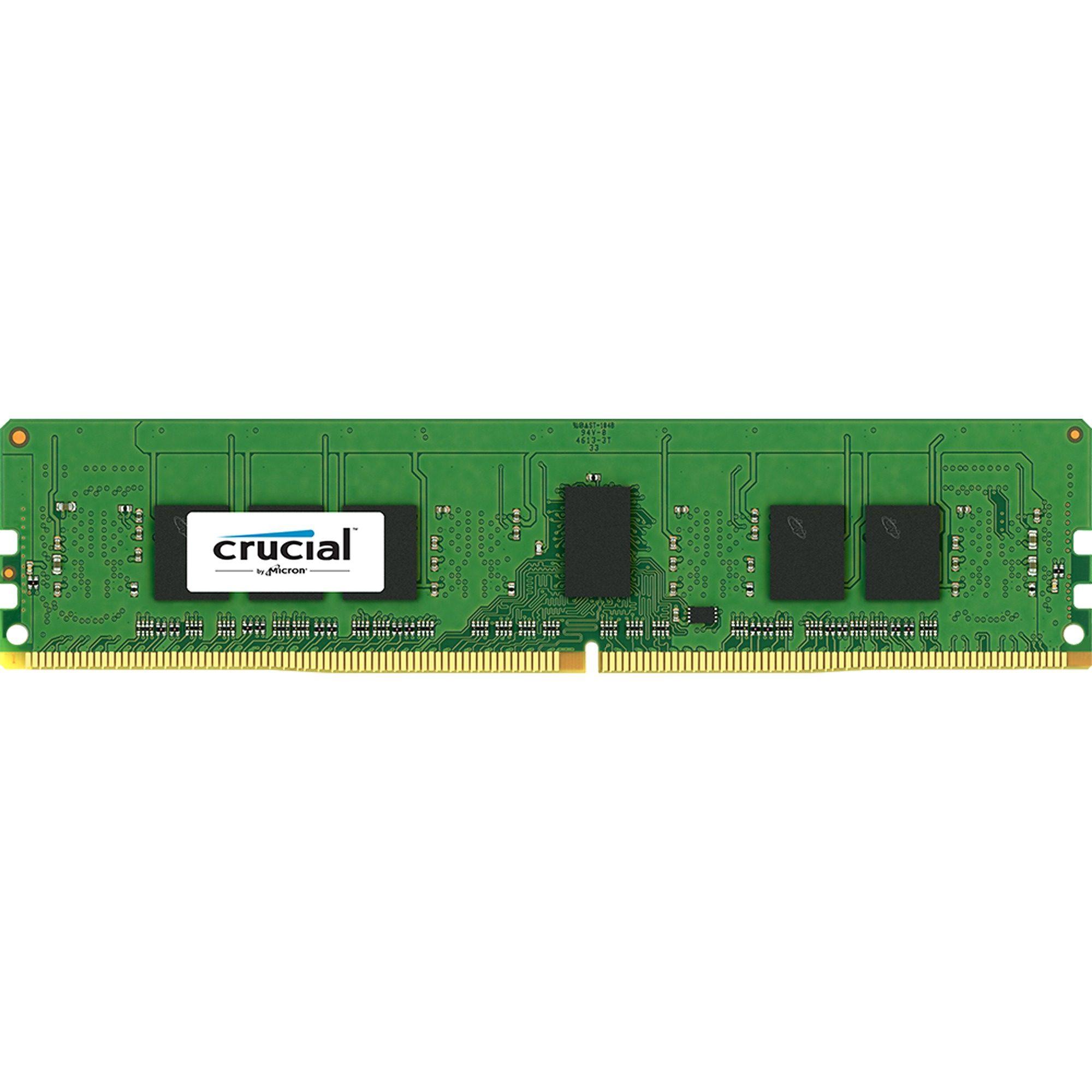Crucial Arbeitsspeicher »DIMM 4 GB ECC Registered DDR4-2133«