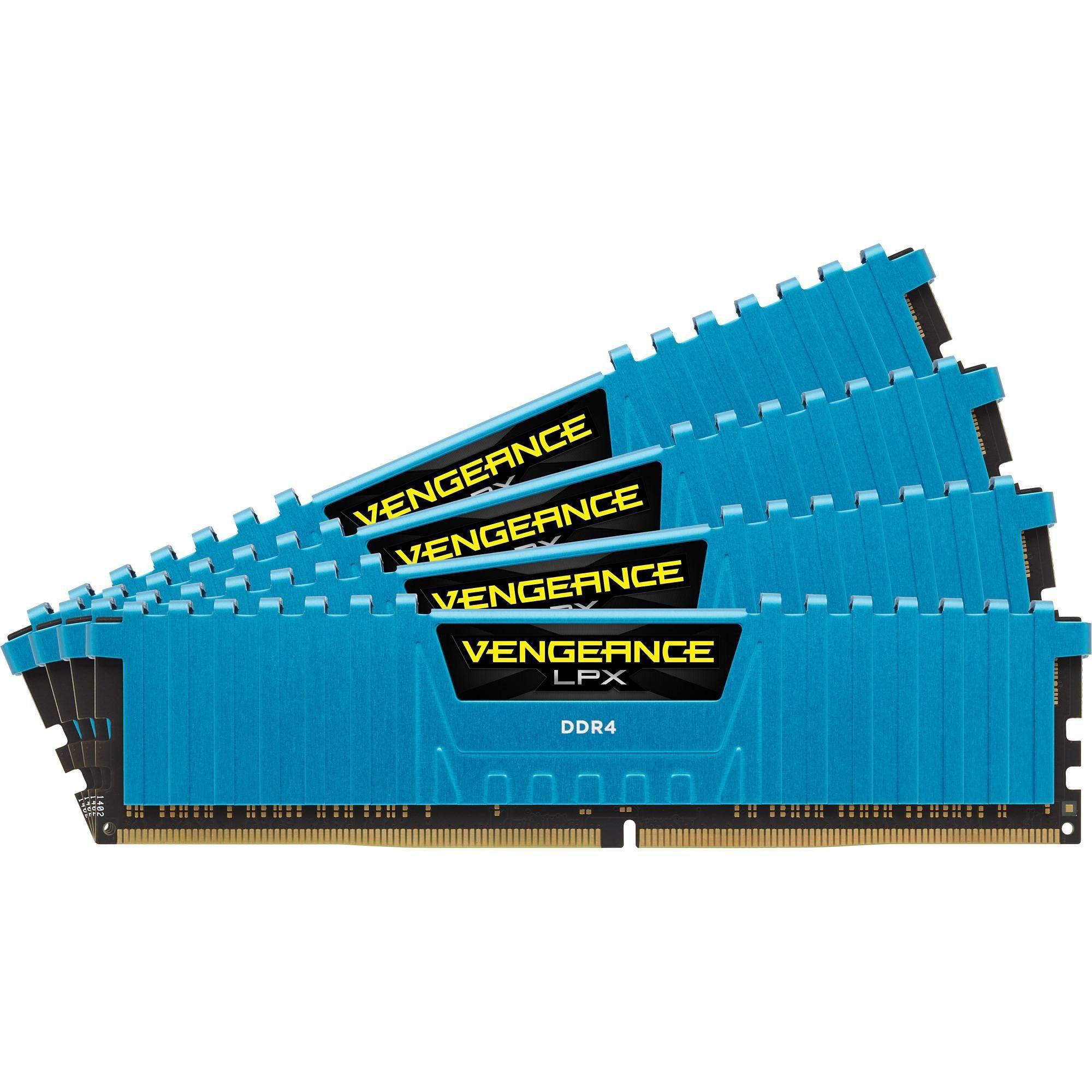 Corsair Arbeitsspeicher »DIMM 16GB DDR-4 2666 Quad-Kit«