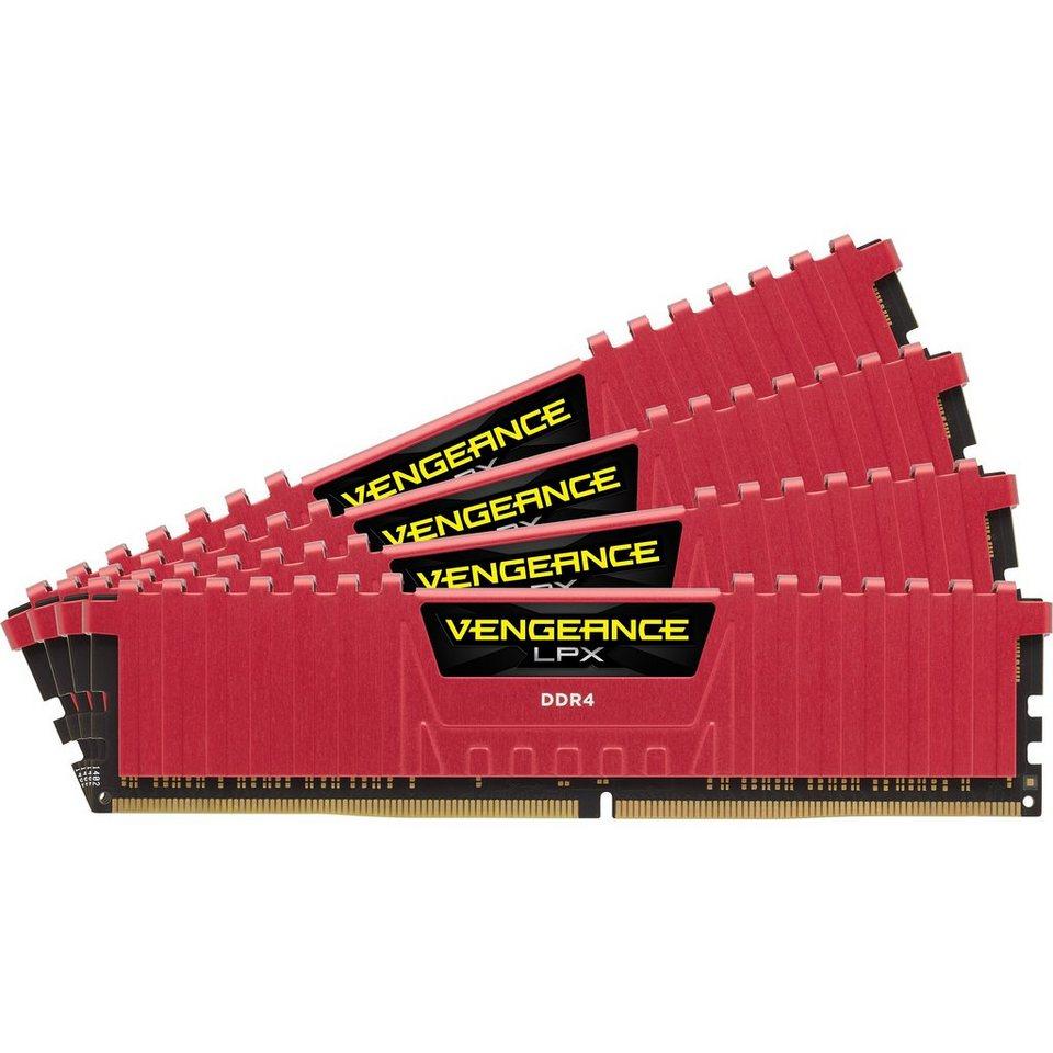 Corsair Arbeitsspeicher »DIMM 16GB DDR4-2133 Quad-Kit«