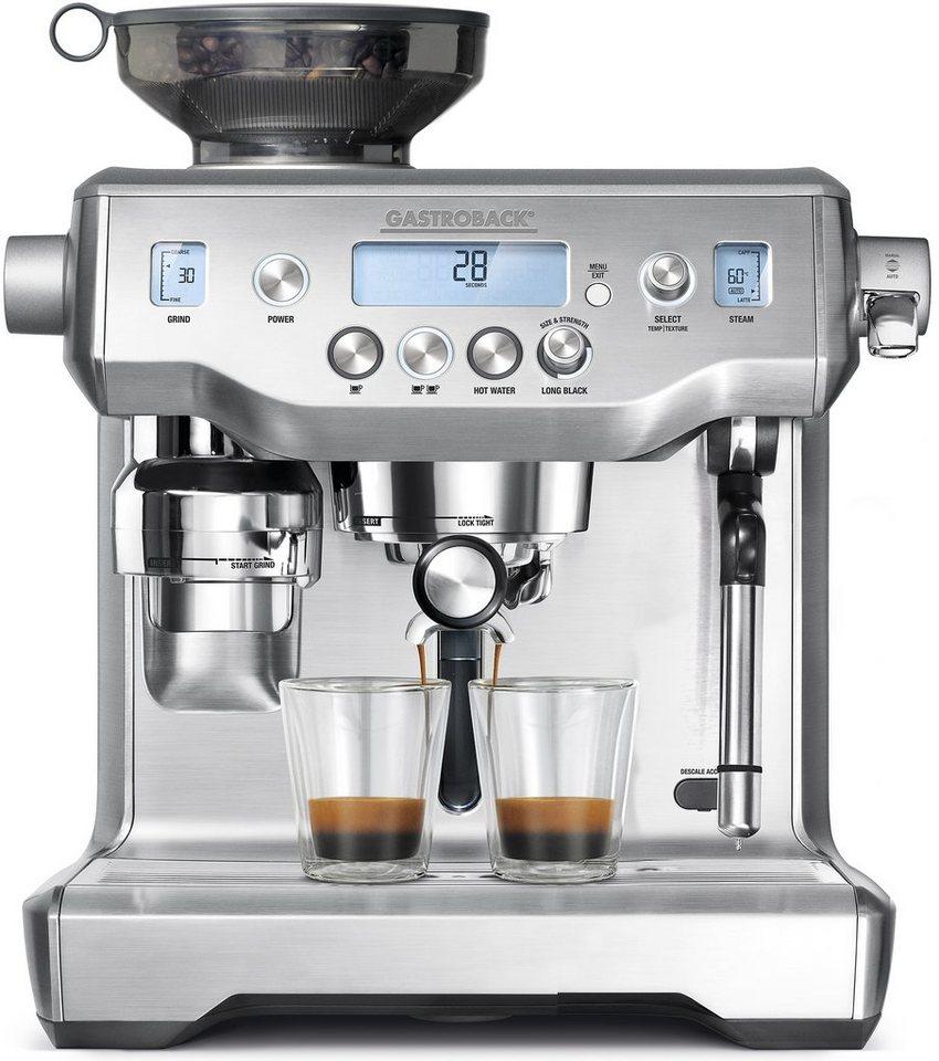 Gastroback Espressomaschine Design Advanced Professional 42640, 15 Bar, 2400 Watt in edelstahl