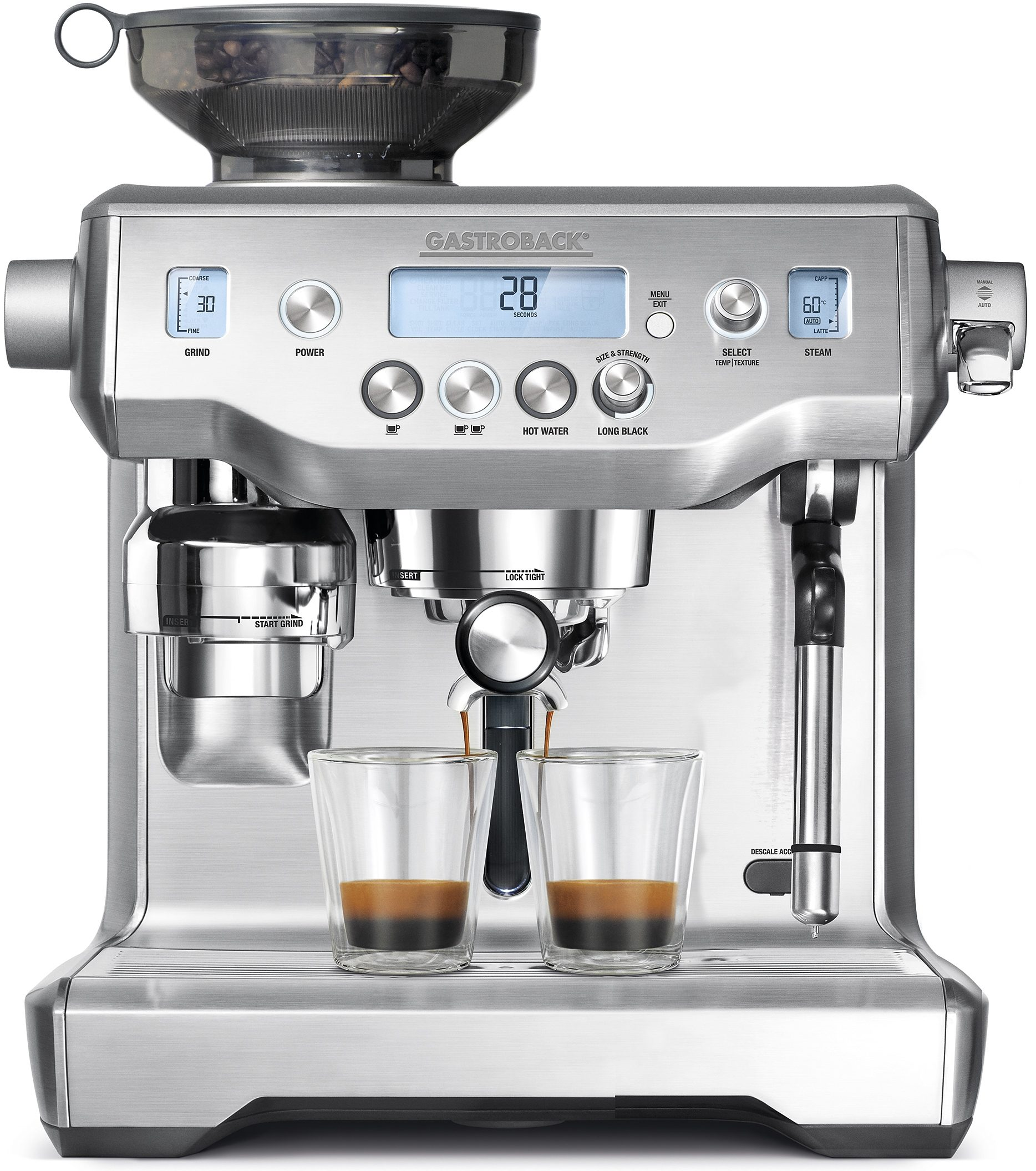 Gastroback Espressomaschine Design Advanced Professional 42640, 15 Bar, 2400 Watt