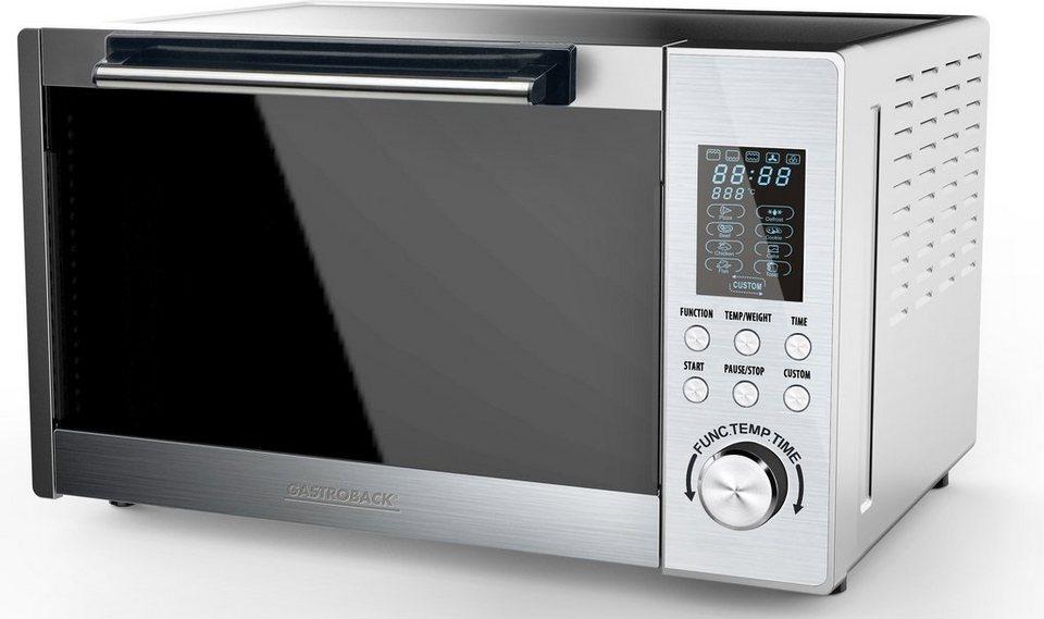 Gastroback Bistro-Ofen Design Advanced Pro 42813, 1400 Watt, 9 Programme in edelstahl