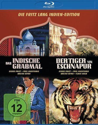 Blu-ray »Fritz Lang Indien-Edition Bluray Box«