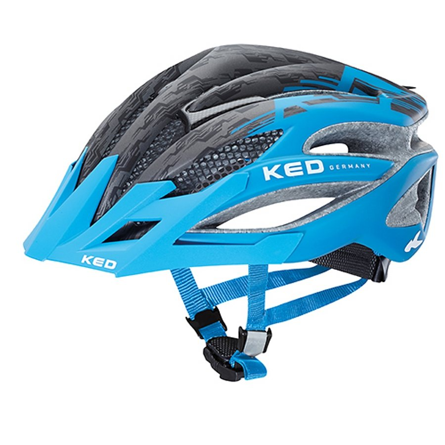 KED Fahrradhelm »Wayron PRO Helmet« in blau