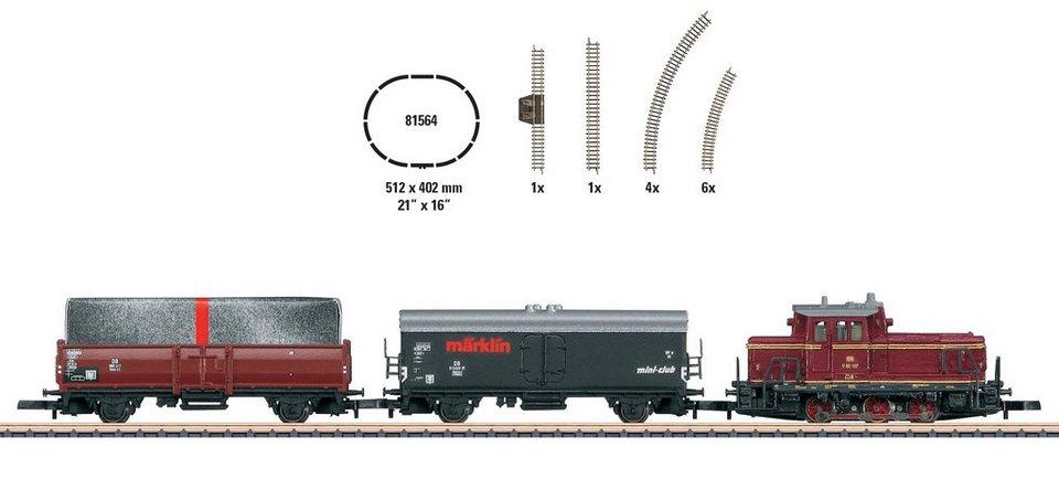 Märklin Modellbahn-Startset Spur Z, »Geschenkpackung im Würfelformat - Wechselstrom - 81564« in natur