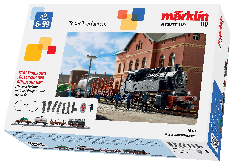 Märklin Starter-Set Spur H0, »Güterzug der Bundesbahn, DB - Wechselstrom - 29321«