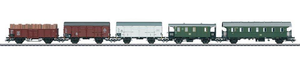Märklin Güterwagen-Set Spur H0, »5-teiliges Güterwagenset GmP, DB - Wechselstrom - 48816«