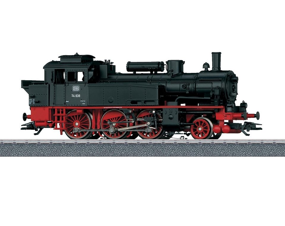 Märklin Tenderlokomotive Spur H0, »Tenderlok BR 74, DB - Wechselstrom - 36740«