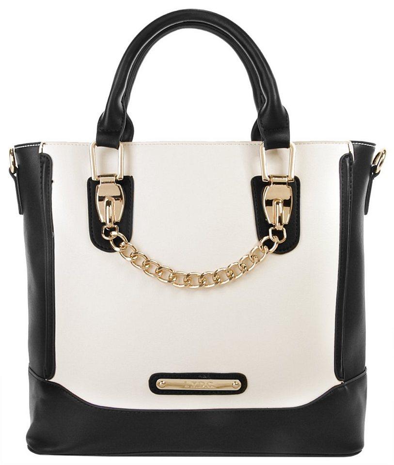 LYDC Damen Handtasche in weiß