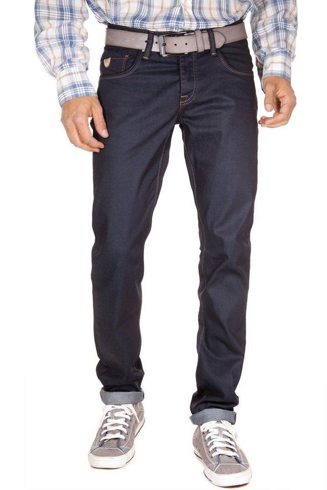 Bright Jeans Stretchjeans regular fit in dunkelblau