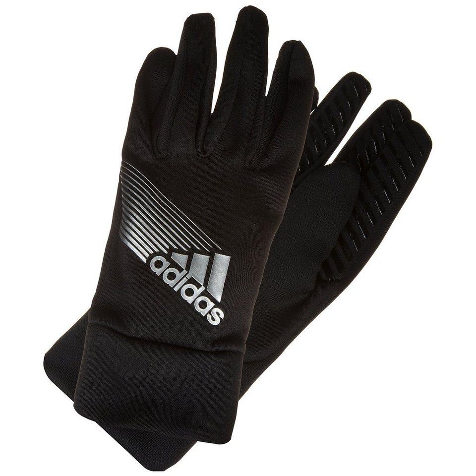 adidas Performance ClimaProof Feldspielerhandschuhe Herren in schwarz / silber
